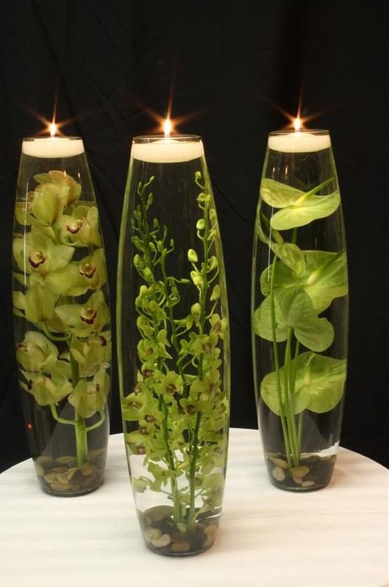 świeczniki na stół